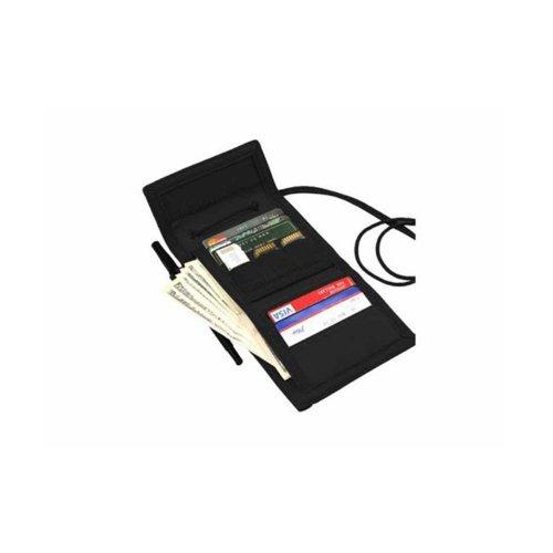 Condor VAULT Dreifachgefaltete Mappe Schwarz (Wallet Vinyl-tri-fold)
