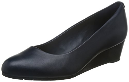 Clarks ballerina Zeppa Cm 5 Donna Vendra Bloom Leather Navy Navy