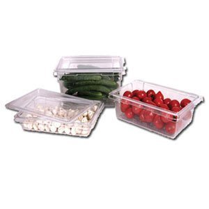 Winco PFSH-3 Polycarbonate Food Storage Box, 12 by 18 by 3-1/2-Inch by Winco Polycarbonat Food Storage Box