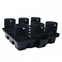 Systeme hydroponique Big Pot XL Air 100-6 - Platinium Hydroponics - hydro-terre-coco