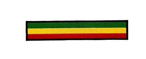 ickt Flagge Rasta Reggae Sportarmband Schwarz Rucksack Biker ()