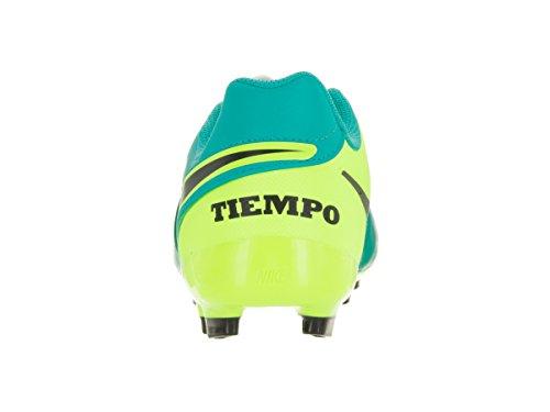 Nike Junior Tiempo Legend Vi Fg, Chaussures de Football Amricain Mixte Enfant Vert