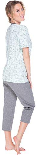 Italian Fashion IF Pyjama Femme Wiesia 0225 Menthe/Melange