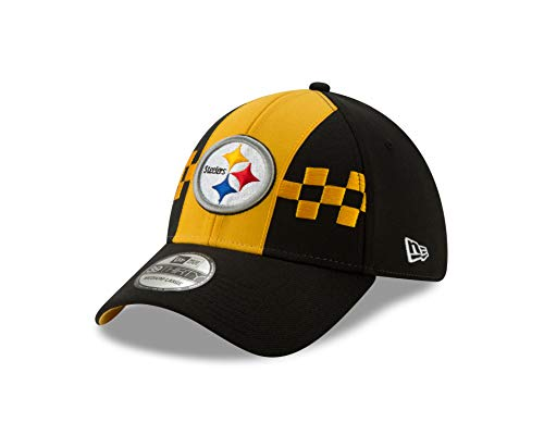 New Era Pittsburgh Steelers 39thirty Stretch Cap NFL Draft 2019 Black - S-M