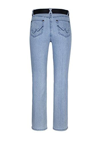 WomensBest Damen Bootcut Jeans Lindau Light Blue Denim