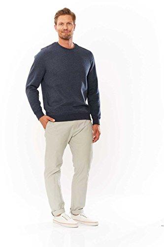 Kitaro Herren Pullover Sweatshirt BASIC Blau
