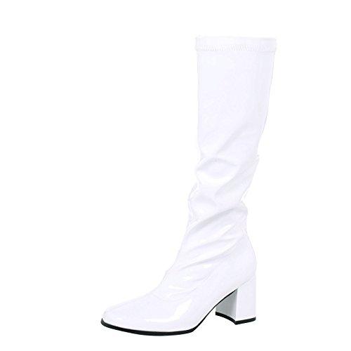 huge discount 633c0 65013 ByPublicDemand Krista Femme cuissardes Blanc