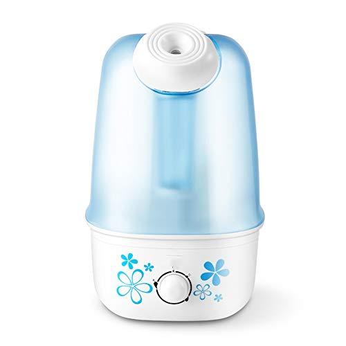 WO NICE Humidificador 3 l Capacidad Modos múltiples Protección automática sin Agua Ajustable Fácil de Limpiar Humidificador de Aire