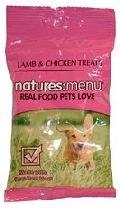 Natures Menu Dog Treat Chicken & Lamb 12x60gm