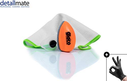 egelung Set: Soft99 Glaco Q + Liquid Elements Streak Buster + Nitril-Handschuhe ()