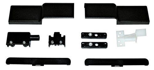 GU Zubehör für Schiebetüren braun UC5, geeignet für 200kg Variante, incl. Anschlagpuffer 30848 und Stopper 43224