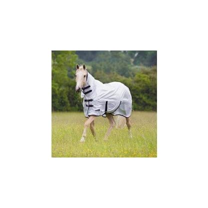 Shires Tempest Original Fly Combo Horse Rug - White 1