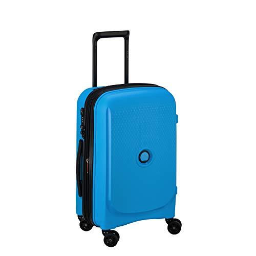 DELSEY PARIS Belmont Plus Valigia 55 centimeters 32.1 Blu (Azul Metalico)