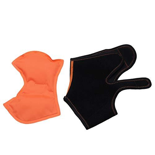 Healifty Tauchen Material Knöchel Eisbeutel Gesundheit Physiotherapie Gel Gürtel Knöchel Eis Gel Pack Wrap für Knöchel Hot Cold Therapy Schmerzlinderung und erste Hilfe (schwarz)