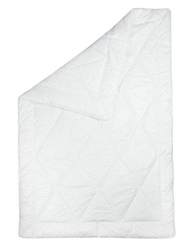 Zollner Bettdecke Daunen Daunendecke ca. 135x200 cm (weitere verfügbar), Gewicht ca. 2x300 g