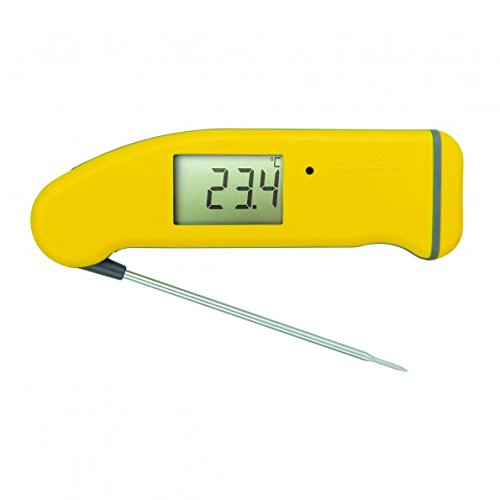 ETI Superfast Thermapen ® Mk 4 Thermometer - gelb l Digitales Grill und Braten Thermomether