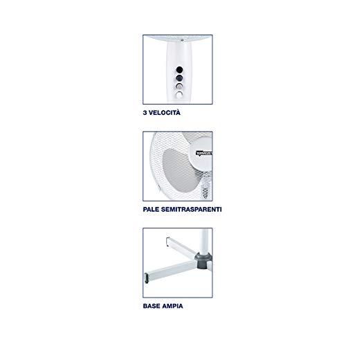 Zoom IMG-2 termozeta tzwz02 ventilatore a piantana