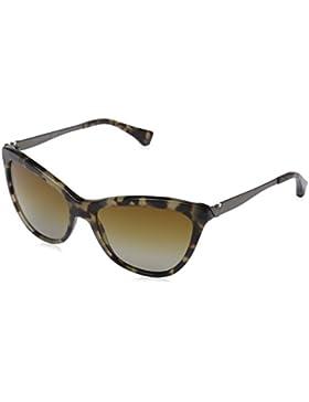Emporio Armani Damen EA 4030 Essential Leisure Cateye Sonnenbrille