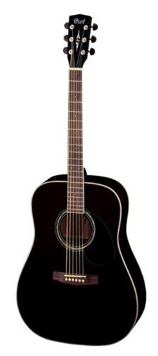 Cort E100schwarz glänzend Akustische Gitarre