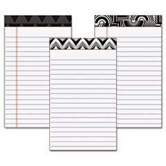Tops 30491 Fashion Legal Pads with Assorted Headtapes, 5 x