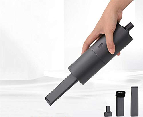 shshuiyue USB kabellose Aufladung Handstaubsauger Auto Mini Auto Büro tragbarer Staubsauger schwarz -