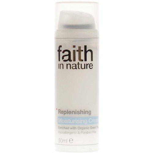 (3 PACK) - Faith in Nature - Replenishing Moisture Cream | 50ml | 3 PACK BUNDLE