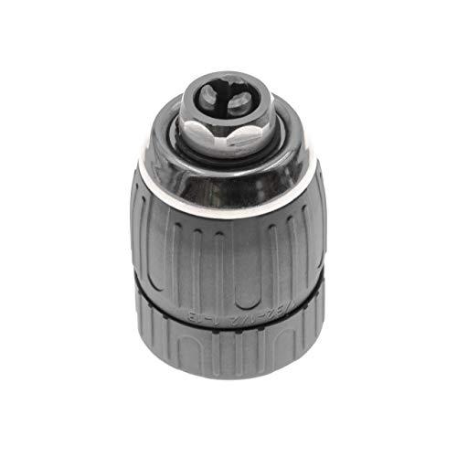"vhbw Schnellspannbohrfutter 1-13mm - 1/2\"" x 20mm passend für Ryobi, Black & Decker, Hitachi, Panasonic Akku Bohrschrauber, Bohrmaschinen"