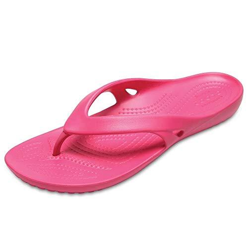 Crocs Kadee II Flip Women, Damen Zehentrenner, Pink (Paradise Pink), 41/42 EU