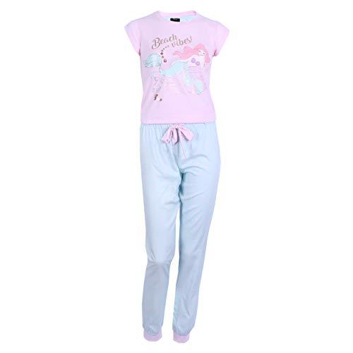Seladon-rosa Pyjama Ariel Disney - 36-38 / UK 10-12 / EU 38-40