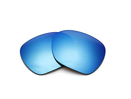 Polarisierte Ersatzgläser für Oakley Overtime OO9167 Gr. 85, blau