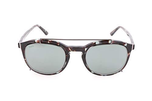 Tod's to0181-55c-schwarz occhiali da sole, nero (schwarz), 50.0 uomo