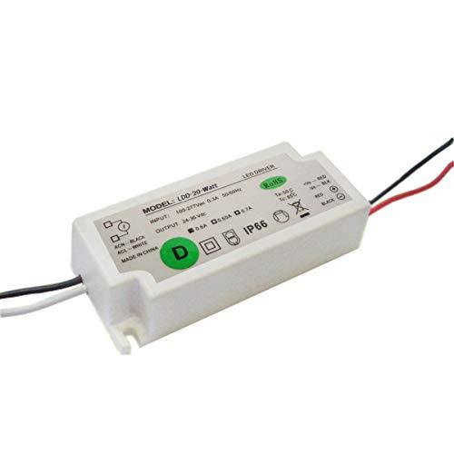 MD-DEAL 20 Watt Konstantstrom LED Trafo Fluter Trafo Fluter Netzteil DC 24-36 Volt