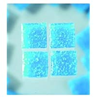 MosaixPro-bloques de vidrio, 20 x 20 mm, 200 G~72 pcs colour azul