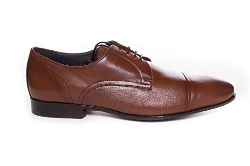 Zapato de Vestir Marrón Piel - Baerchi 4942