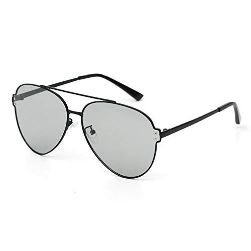 Herren Sonnenbrille PolarizedPolarized Farbsonnenbrille Tag und Nacht Doppelsonnenbrille Ocean Piece Pink Farbbrille Nachtsichtbrille ConcertLight Grey