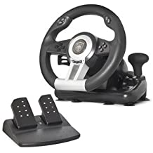 Volante Spirit of Gamer Race Wheel Pro 2 – Conjunto de simulación con palanca de velocidad (Compatible con PC/Playstation 3/PlayStation 4/Xbox One)