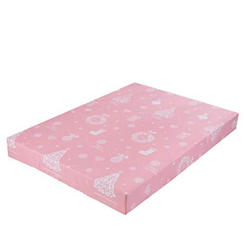 CHLCH Bedding - Protector de colchón Acolchado - Microfibra - Transpirable - Funda para colchonManga Impresa de Dibujos Animados 5 80X200 + 25cm