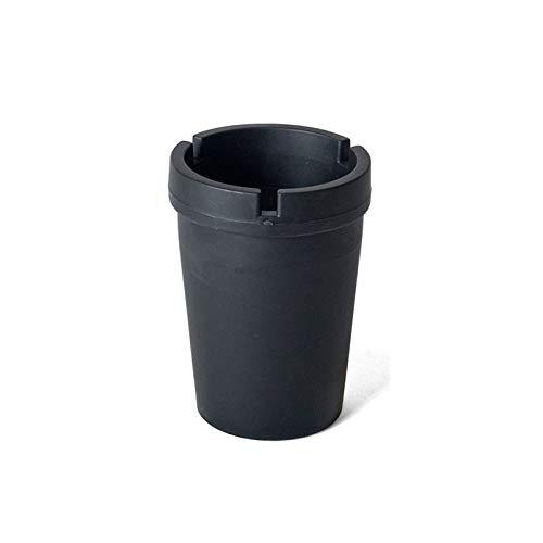 gerimport Aschenbecher schwarz Rauchschutz F549-016 -