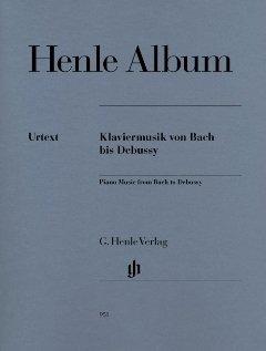 HENLE ALBUM KLAVIERMUSIK VON BACH BIS DEBUSSY - arrangiert, gebraucht gebraucht kaufen  Wird an jeden Ort in Deutschland