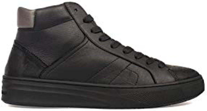 Crime London Hi Top scarpe scarpe scarpe da ginnastica Uomo 11622AA1B20 Pelle Nero | Elegante e divertente  | Sig/Sig Ra Scarpa  52b121