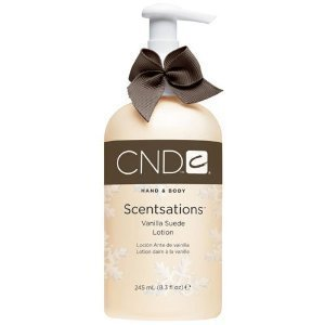 CND Scentsations Holiday Luxury Lotion Vanilla Suede with Hing of Coffee - 8.3 fl. oz. by Creative Nail Design - Scentsations Lotions