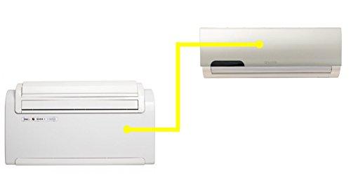 OLIMPIA SPLENDID UNICO TWIN NEU Klimaanlage DUAL SPLIT Wärmepumpe Monobloc - 01273-01274
