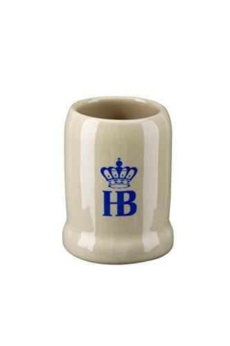 Mini-Bierkrug / Miniatur Steinkrug mit Band