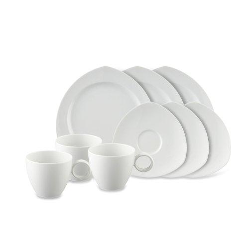Rosenthal Thomas - Vario Kaffeeset - 18-TLG. - Pure - Porzellan - weiß