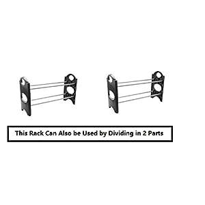 PRO365 Economical 12 Pair Shoe Rack / 4 Layers