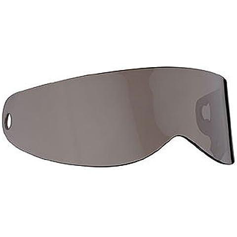 Bandit–XXR nuovo originale–Visiera trasparente, Fumo, a specchio, colore: nero, Gold