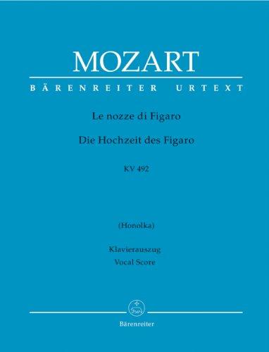 Les noces de Figaor KV 492 - Italien / Allemand --- Chant(SATB)/Piano