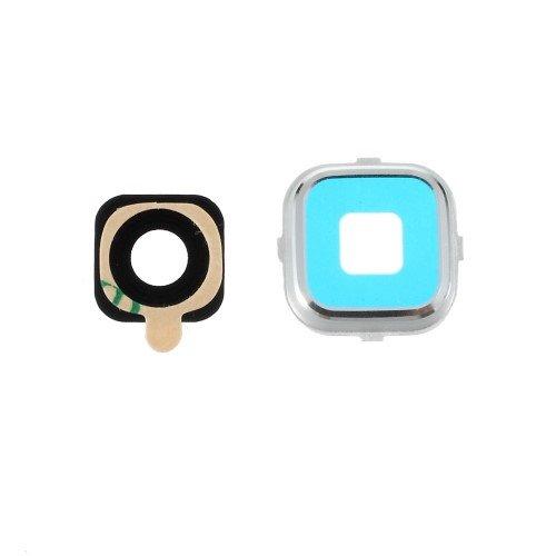 jbTec® Kamera-Linse mit Rahmen passend für Samsung Galaxy Alpha/SM-G850 - #K31 - Kamera-Scheibe Foto-Glas Abdeckung