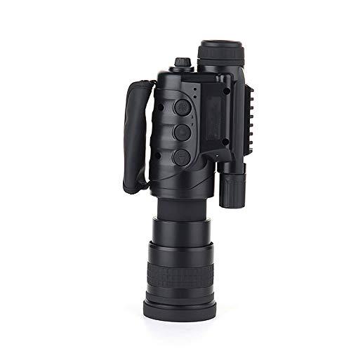 Hengyuanyi Digitales Nachtsichtgerät Binokular 6x-8x mit digitaler Zoom-Funktion, zuschaltbarer Infratotbeleuchtung, großem Display, Aufnahmefunktion NV-860D