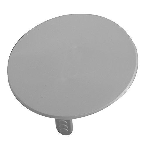 Preisvergleich Produktbild ViD - Federdeckel,  50-er Packung,  74 mm,  weiß